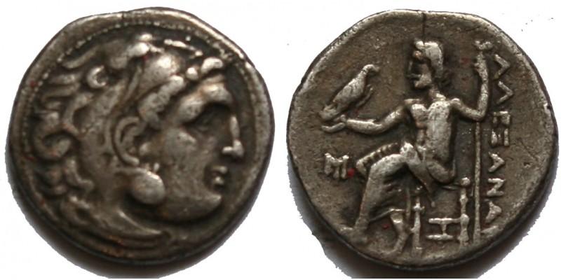 Görögország Makedónia Nagy Sándor ie. 336-323 drachma Abydos