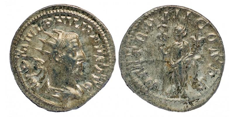 Római Birodalom I. Philippus 244-249 antoninianus