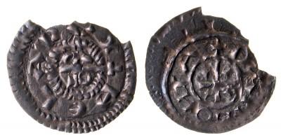 Béla herceg 1048-60 denár ÉH 6 R!