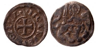 V. István 1245/1270-72 denár ÉH 266