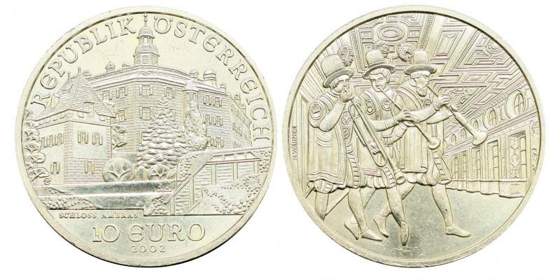 Ausztria 10 EURO 2003 BU Ambras kastély