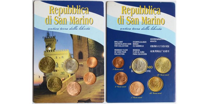 San Marino vegyes évszámú euro sor