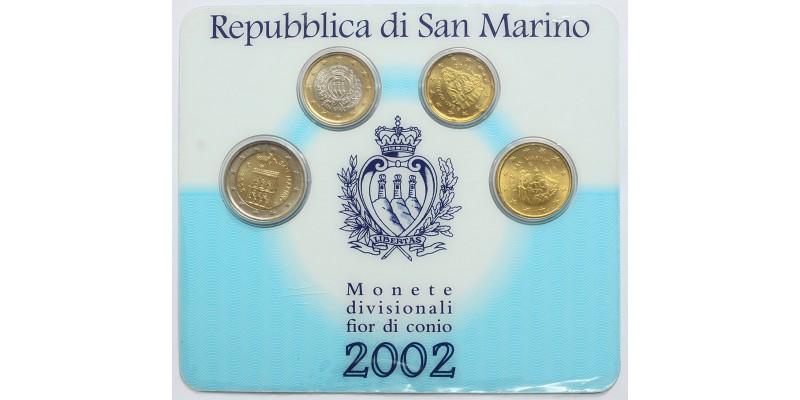 San Marino euro sor 2002