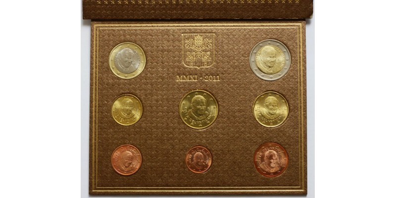 Vatikán euro sor 2011