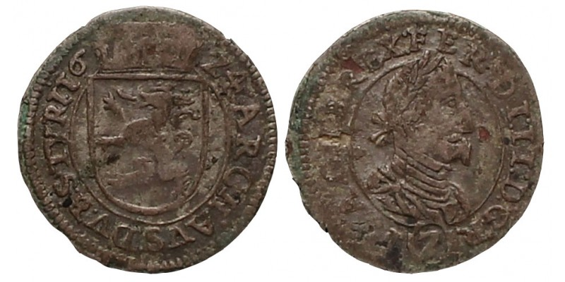 2 Krajcár 1624 Graz R!