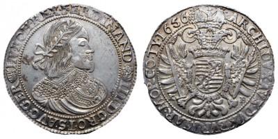III. Ferdinánd tallér 1656 KB