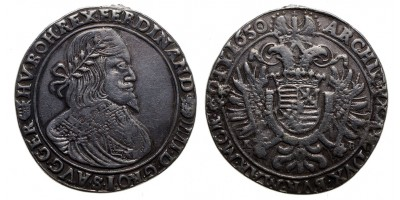 III.Ferdinánd tallér 1650 KB