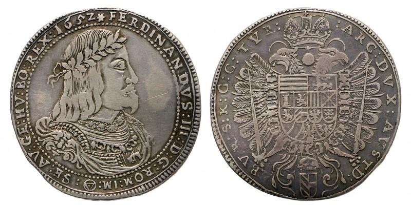 III.Ferdinánd 1/2 tallér 1852 Bécs R!