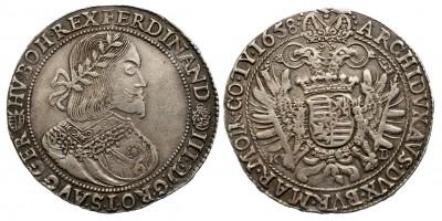 III. Ferdinánd tallér 1658 KB/V