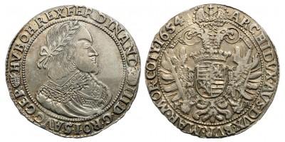 III. Ferdinánd tallér 1654 KB