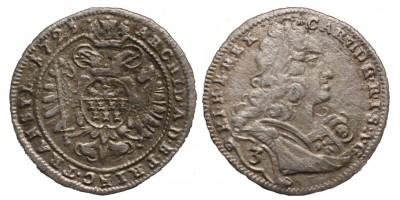 3 krajcár 1721 Erdély
