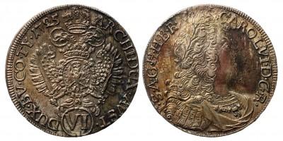 III. Károly VI krajcár 1725