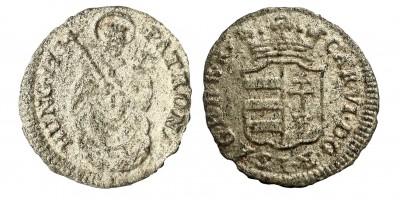 III.Károly denár 1734 KB.