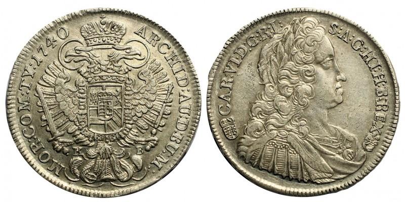 III.Károly  tallér 1740 KB.