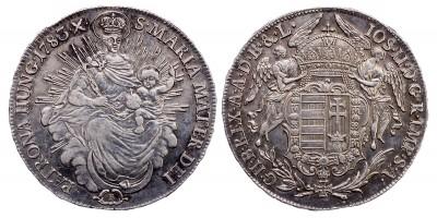 II.József 1/2 tallér 1783 B