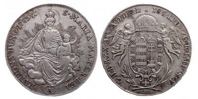 II.József 1/2 tallér 1785 A