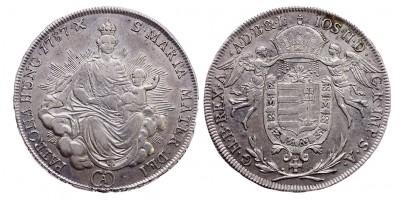 II.József 1/2 tallér 1787 A