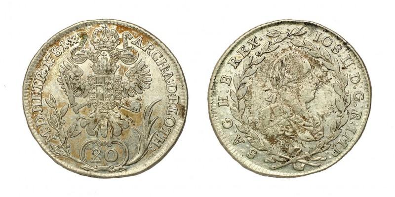 20 krajcár 1781 B
