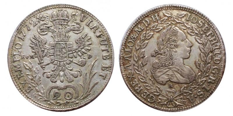 20 krajcár 1772