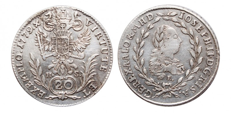 20 krajcár 1779 E