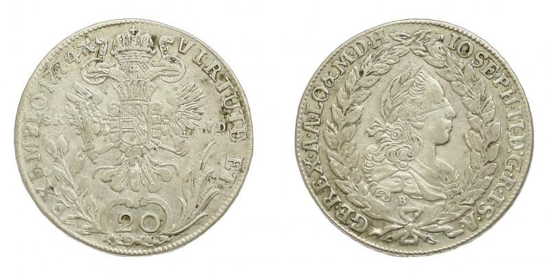 20 krajcár 1774 S.K.P-D/B
