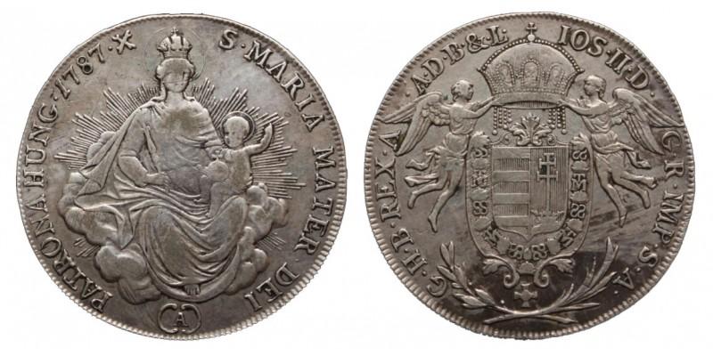 1/2 Tallér 1787 A
