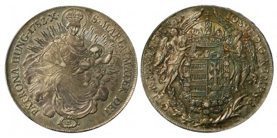 II. József  tallér 1782 B