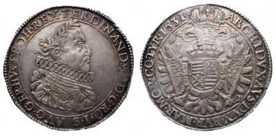 II.Ferdinánd tallér 1631 KB