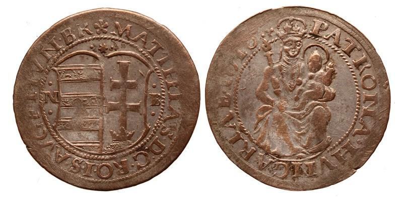 II.Mátyás (1608-1619) garas 1618 NB