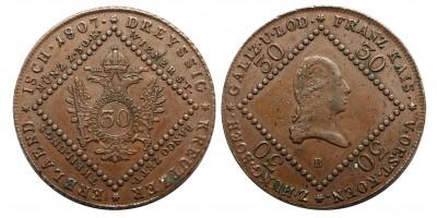 30 krajcár 1807 B