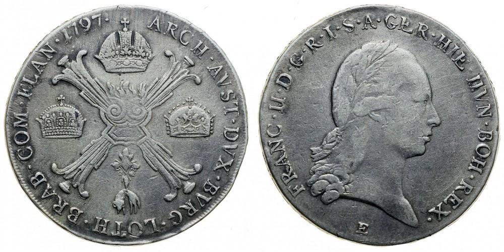I.Ferenc koronatallér 1797 E.