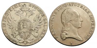 I. Ferenc tallér 1815 A