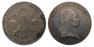 I.Ferenc koronatallér 1793 A