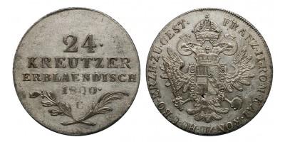 I.Ferenc 24 krajcár 1800 C Prága