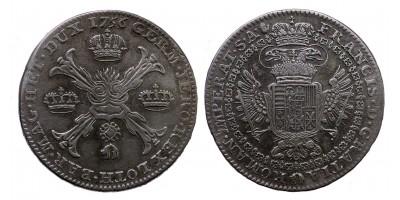 Lotharingiai  Ferenc  koronatallér 1756 Antwerpen