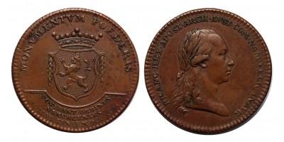 I.Ferenc Belgium.Namur hódolata zseton 1792