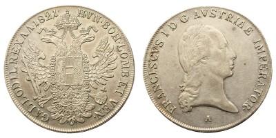 I. Ferenc tallér 1821 A