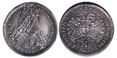 I.József tallér 1707 Bécs