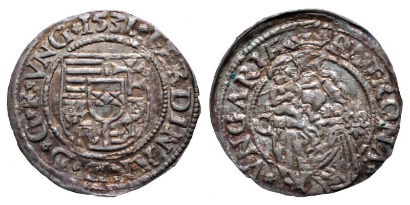 I. Ferdinánd denár 1531