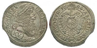 I. Lipót 15 Kreuzer 1684 Bécs