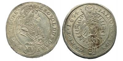 I. Lipót 15 Krajcár 1694 KB