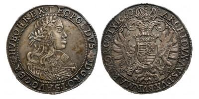 I.Lipót tallér 1660 KB./V