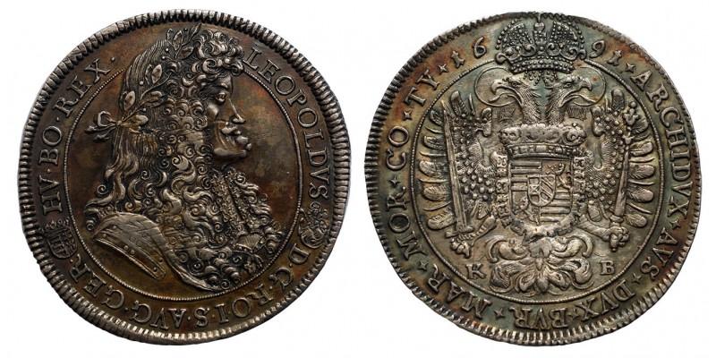 I.Lipót tallér 1691 KB.