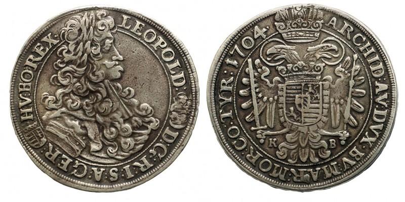 I.Lipót 1/2 tallér 1704 KB.