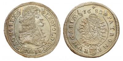 I.Lipót 15 krajcár 1682 KB