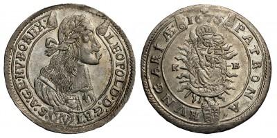 I.Lipót 15 krajcár 1675