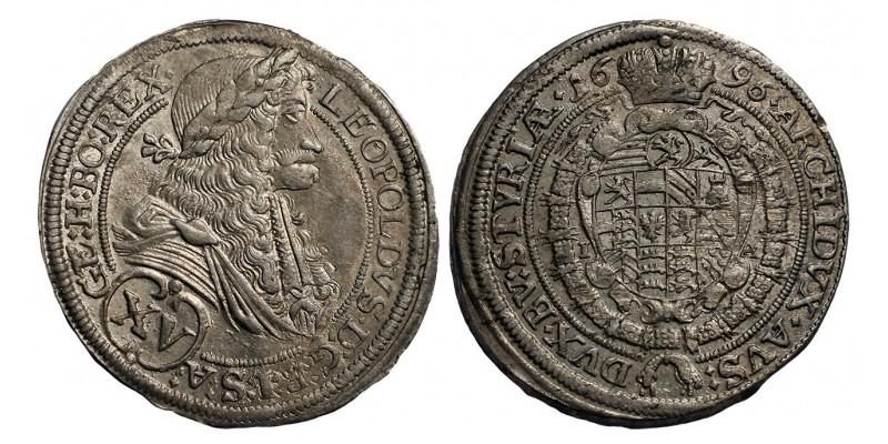 I.Lipót XV krajcár 1696 Graz R!