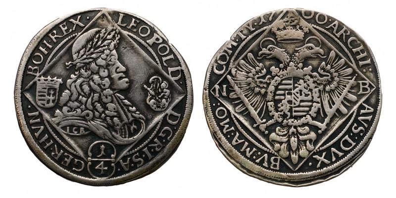 I.Lipót 1/4 tallér 1700 NB.