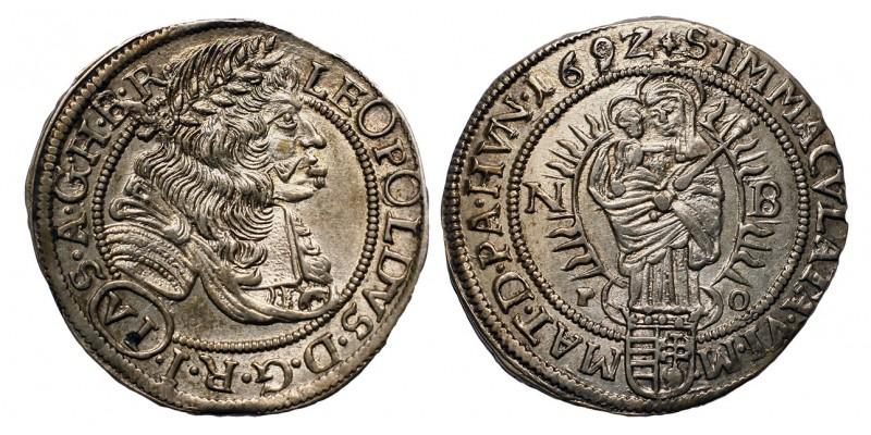 I.Lipót VI krajcár 1692 NB.
