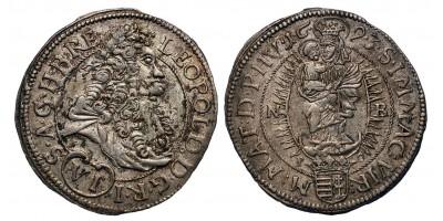 I.Lipót VI krajcár 1693 NB.